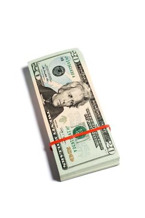 USA Dollar, concept van business en finance