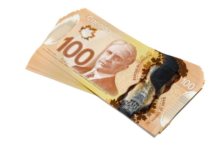 Canadian Dollar, concept of business and finance photo