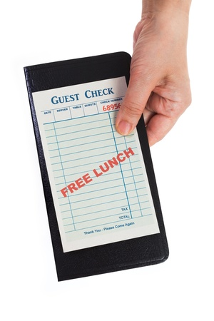 Free Lunch, Business Concepts. photo