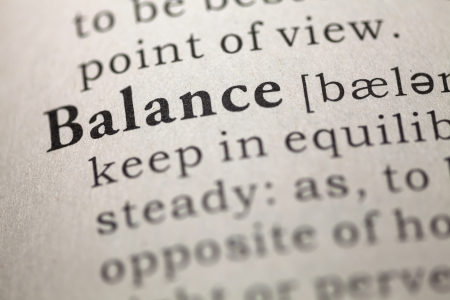 Dictionary definition of the word Balance  Fake Dictionary