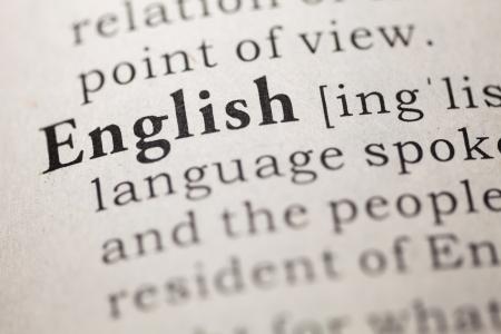 偽の辞書英語の単語の辞書定義