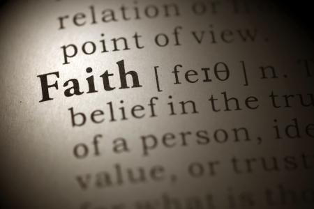 definicion: Definición del diccionario de la palabra fe Diccionario Fake