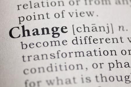 definicion: Definición del diccionario de la palabra cambio Diccionario Fake
