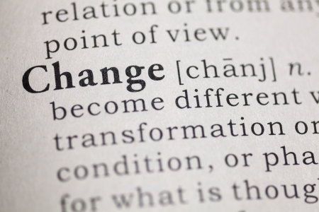 printing out: Dictionary definition of the word change  Fake Dictionary