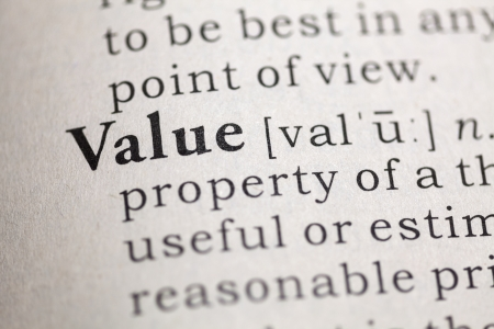 Dictionary definition of the word Value  Fake Dictionary