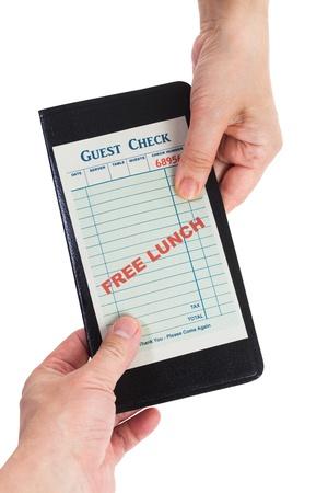 Fake Free Lunch, Business Concepts  photo