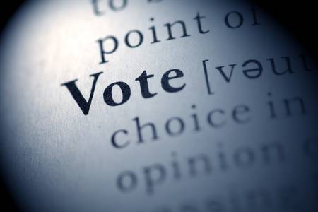 vote: Fake Dictionary, Dictionary definition of the word Vote.