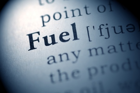printing out: Fake Dictionary, Dictionary definition of the word Fuel.