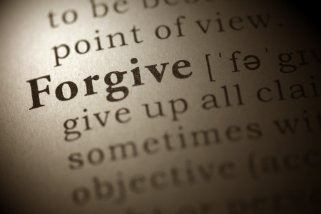 Dictionary definition of the word Forgive.