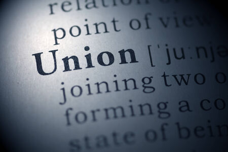 Dictionary definition of the word Union