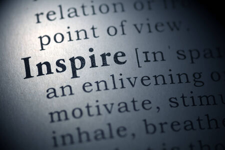 Dictionary definition of the word Inspire.