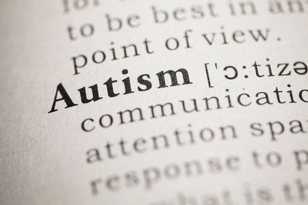 Fake Dictionary, Dictionary definition of the word autism. 版權商用圖片 - 22829752