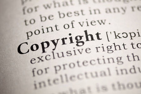 intellectual property: Fake Dictionary, Dictionary definition of the word Copyright.