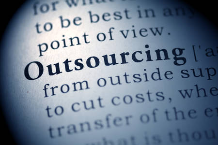 outsourcing: Fake Dictionary, Dictionary definition of the word Outsourcing.