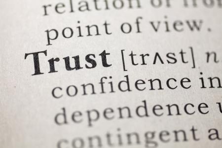 definicion: Definición del diccionario de la palabra confianza.