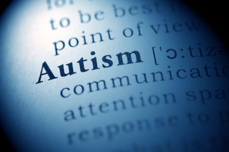 Fake Dictionary, Dictionary definition of the word autism. Stock Photo - 22898185