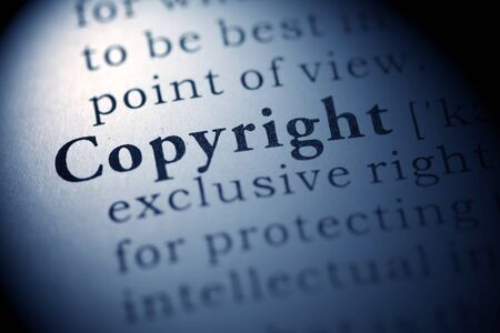 property: Fake Dictionary, Dictionary definition of the word Copyright.