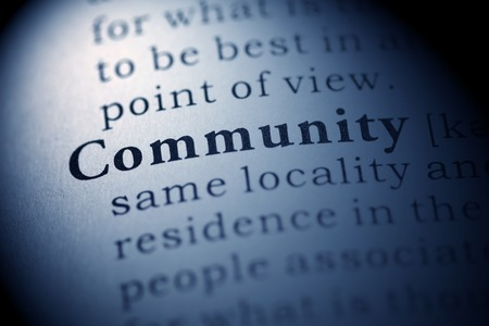 Fake Dictionary, Dictionary definition of the word Community.