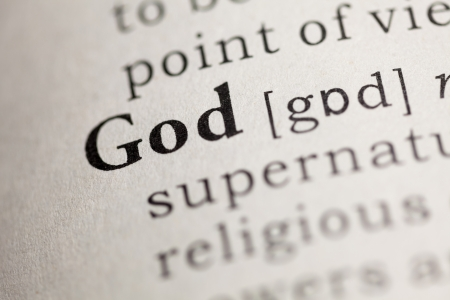 word of god: Fake Dictionary, Dictionary definition of the word God.