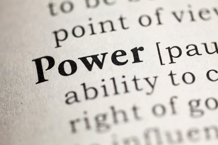 Fake Dictionary, Dictionary definition of the word Power. Imagens