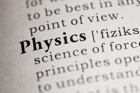 Fake Dictionary, Dictionary definition of the word Physics.