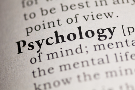 printing out: Fake Dictionary, Dictionary definition of the word Psychology.