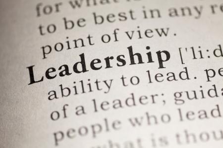 definicion: Diccionario Fake, Definición del diccionario de la palabra liderazgo.