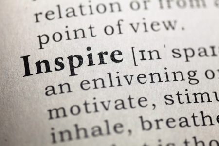 printing out: Fake Dictionary, Dictionary definition of the word Inspire