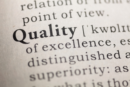 Fake Dictionary, Dictionary definition of the word Quality