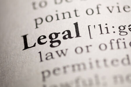Fake Dictionary, Dictionary definition of the word Legal