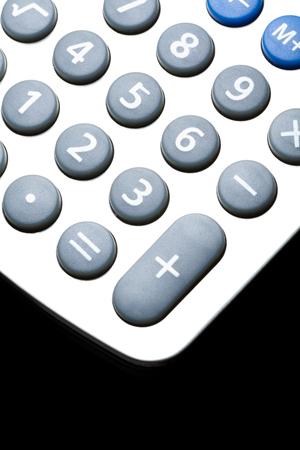 電卓は、金融のビジネス ・ コンセプト 写真素材
