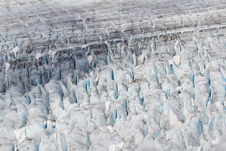 crevasse: Glacier Ice close up shot