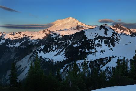 mt baker: Mt Baker in Washington State Stock Photo