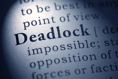 deadlock: Fake Dictionary, Dictionary definition of the word deadlock