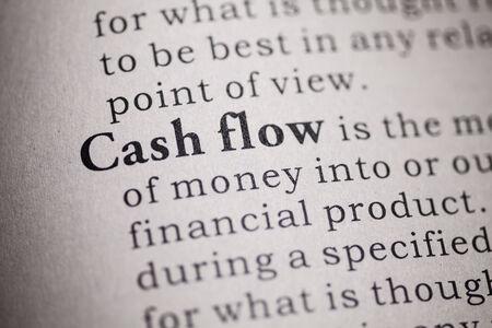 flujo de dinero: Diccionario Fake, Definici�n del diccionario de la palabra el flujo de caja