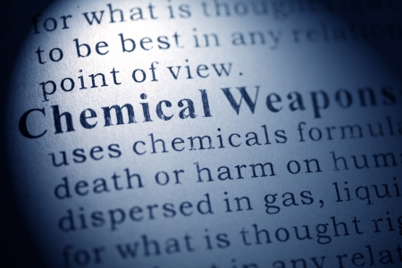 Fake Dictionary, Dictionary definition of Chemical Weapons