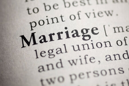 Fake Dictionary, Dictionary definition of the word marriage