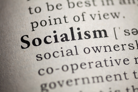 Fake Dictionary, Dictionary definition of the word socialism Stock Photo - 25269757