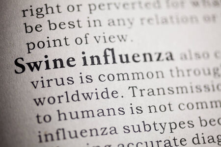 Fake Dictionary, Dictionary definition of Swine influenza