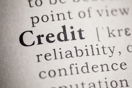 Fake Dictionary, Dictionary definition of the word credit