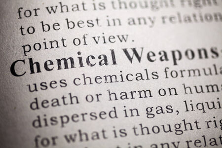 weapons: Fake Dictionary, Dictionary definition of Chemical Weapons