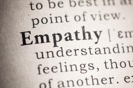 empatia: Diccionario Fake, Definición del diccionario de la empatía