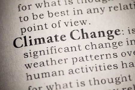 Fake Dictionary, Dictionary definition of Climate Change   Stock Photo