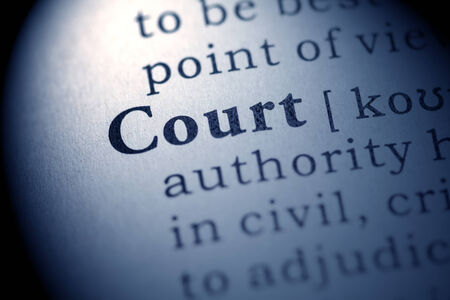 printing out: Fake Dictionary, definition of the word court