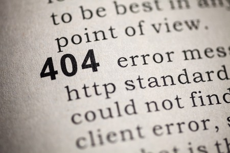 Fake Dictionary, Dictionary definition of the word 404