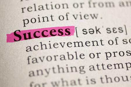 definicion: Definición del diccionario de la palabra éxito