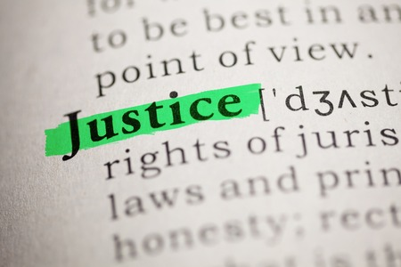 printing out: Fake Dictionary, Dictionary definition of the word justice