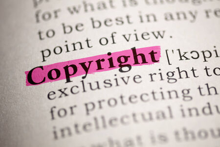 Fake Dictionary, Dictionary definition of the word Copyright