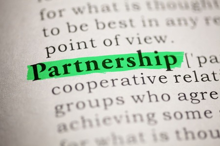 Fake Dictionary, Dictionary definition of the word Partnership