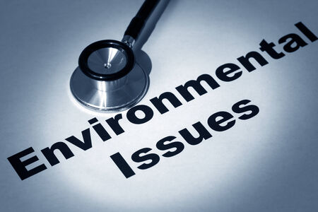 environmental issues: Stethoscope and Environmental issues,